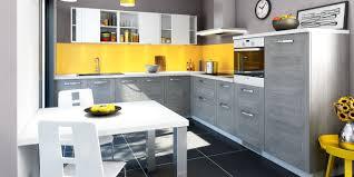 cuisines you une cuisine lumineuse et acidulée avec des détails de couleur jaune