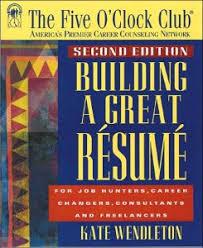 Great Resume Summary Building A Great Resume Summary Kate Wendleton