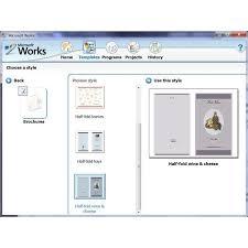 free resume template word processor free resume templates microsoft works word processor