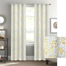 Blue And Yellow Shower Curtains Gray And Yellow Curtains S Blue Shower Curtain White Window