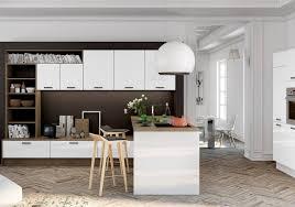 deco cuisines deco cuisine ouverte sur salon une qui se fond dans le decor lzzy co