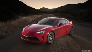lexus trd 2017 toyota 86 red with trd accessories front three quarter hd