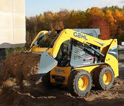 skid steer loader r220 gehl videos