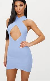 blue bodycon dress bodycon dresses cheap bodycon dress prettylittlething