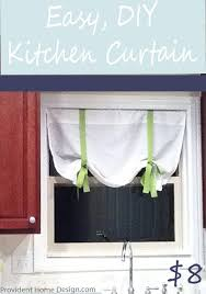 kitchen curtain ideas diy easy 8 diy curtain