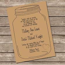 Mason Jar Wedding Programs Mason Jar Wedding Invitations The Best Wedding Picture Ideas 9