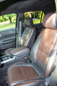 Ford Explorer With Captain Chairs 2013 Ford Explorer Sport Review Video