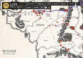a map of middle earth a new interactive historical map of middle earth from lotrproject