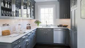 Gray Kitchen Design Ideas Decoholic - Gray kitchen cabinet