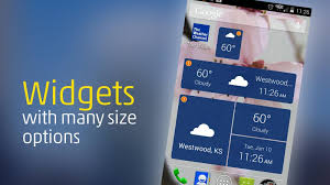 best android weather widget 6 best free weather apps for android
