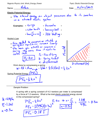 potential energy archives regents physics