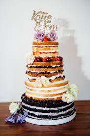 different wedding cakes rustic wedding cake with different flavor cakes and fillings