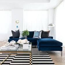 blue velvet sectional sofa velvet sectional sofas mypic me