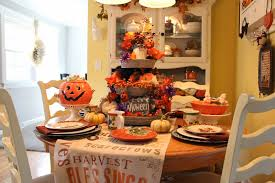 halloween tablecloths priscillas halloween in the kitchen 2014