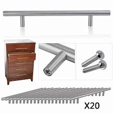 Kitchen Cabinet Bar Handles by 20pcs Diameter 10mm Stainless Steel Kitchen Door Cabinet T Bar