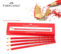 faber castell water soluble color pencil red color 421 colored
