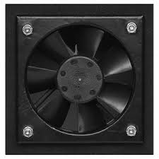 Audio Video Equipment Racks Internal 27cfm Ventilation Fan For Audio Video Equipment Racks