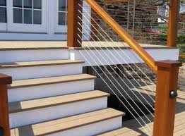 stair cable railing modern staircase other by ultra tec