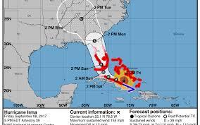 Bradenton Florida Map by Hurricane Irma Tracks Largely Agree On South Florida Hit