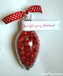 plastic light bulb ornaments lights card and