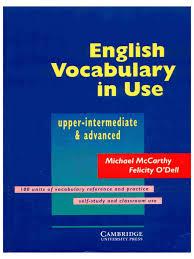 english vocabulary in use upper intermediate to advanced