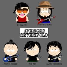 Avenged Sevenfold Flag South Park Bandas De Rock Avenged Sevenfold