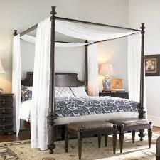 Modern Canopy Bedroom Sets Bedroom Dark Grey Wood Canopy Bed White Matresses Green Blanket