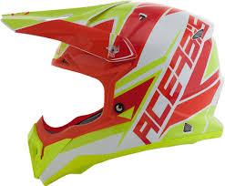 red motocross helmet acerbis impact 3 0 motocross helmet helmets offroad red yellow
