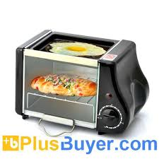Oven Grill Toaster Crunchy Mini Electric Toaster Oven 220 Watt Power 1 6 Liter