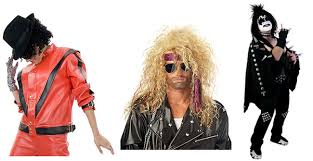 Metal Halloween Costumes 1980s Costume Guide 80s Rockstars Halloween Costumes Blog
