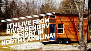 incredible tiny homes live riverbend resort tour featuring 3 of
