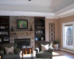 In Wall Bookshelves by Successful Remodel Project Resulting Beautiful Kitchen And Sunroom