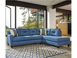 chaise sleeper sofa benchcraft kirwin nuvella sectional with sleeper sofa u0026 right