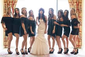 malibu bridesmaid dresses malibu calamigos ranch wedding ruffled