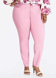 High Waisted Jeggings Plus Size Plus Size Jeggings Colored High Waisted Ashleystewart Com