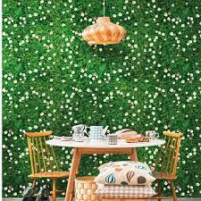 aliexpress com buy green flower wall art stickers vinyl diy