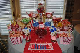 Buffet Table Decor by Birthday Party Candy Table Ideas Themed Candy Buffet For A