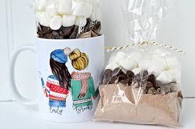 hot chocolate gift ideas creative coffee mug gift ideas to make your friends and family