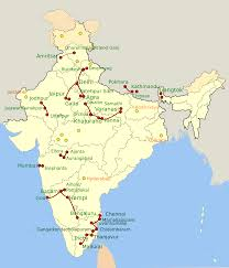 Jaipur India Map by India Map Of Our Tours