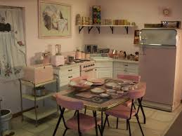 Retro Kitchen Curtains 1950s by Best 25 Retro Pink Kitchens Ideas On Pinterest Vintage Stuff