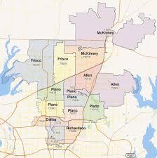 Plano Map Best Lawn Care U0026 Mowing In Plano Frisco North Dallas