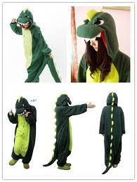 Godzilla Halloween Costumes Dinosaur Godzilla Cosplay Anime Costume Kigurumi Pajamas Fancy