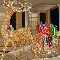 christmas path lights u0026 yard stakes outdoor christmas