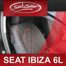housse siege seat ibiza materiel echantillon housses siege seat ibiza 6l interieur