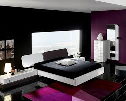 black and purple master bedroom house design ideas