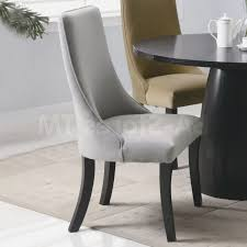 White Upholstered Dining Room Chairs by Dining Room Adorable White High Back Dining Chairs With Floral