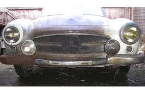 mercedes auction barn find mercedes 190 sl for sale at auction for 45 000