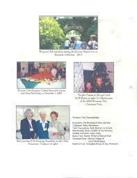 women u0027s club history niguel shores community association