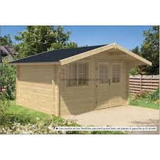 bureau de jardin en bois cabanon jardin bois bureau de jardin rorik 12m2 vitrage