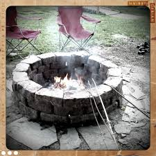Concrete Fire Pit Exploding by How To Build Your Own Fire Pit 6 Steps With Pictures